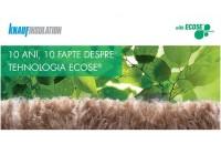 Vata minerală cu tehnolgia ECOSE. 10 motive pentru care să o utilizaţi