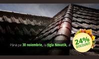 Sezonul reducerilor la tigla metalica NOVATIK Pana la data de 30 noiembrie compania Final Distribution ofera