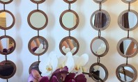 Decoratiune ce oglindeste creativitatea! Oferiti camerei o atmosfera inedita cu aceasta decoratiune de perete creata cu