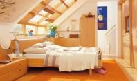 Dormitorul de la mansarda - sfaturi de amenajare Este bine ca dormitorul sau locul de odihna