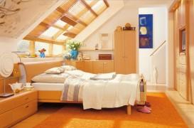 Dormitorul de la mansarda - sfaturi de amenajare