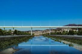 Noul pod din Genova este gata şi arată ca o navă care pluteşte în văzduh