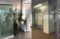 Pereti mobili si din sticla modulari pentru amenajarea spatiului interior