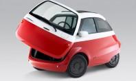 În curând vom putea vedea această mașinuță electrică pe străzile din Europa Compania elvetiana de scutere