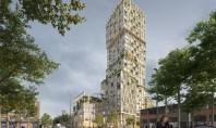 Cum va arăta cea mai înaltă clădire preponderent din lemn din Germania WoHo va masura 98