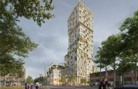 Cum va arăta cea mai înaltă clădire preponderent din lemn din Germania