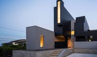Casa Scape o compozitie inspirata de prisme Arhitectul Kouichi Kimura a proiectat aceasta locuinta care impresioneaza