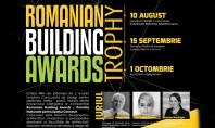 Romanian Building Awards lansează Concursul de design Romanian Building Awards Trophy Echipa RBA are plăcerea de