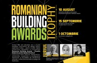 Romanian Building Awards lansează Concursul de design  Romanian Building Awards Trophy