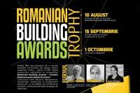 Romanian Building Awards lansează Concursul de design  Romanian Building Awards Trophy