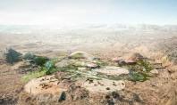 Primele imagini cu proiectul celei mai mari grădini botanice din lume Birourile Arup Grimshaw si Haley