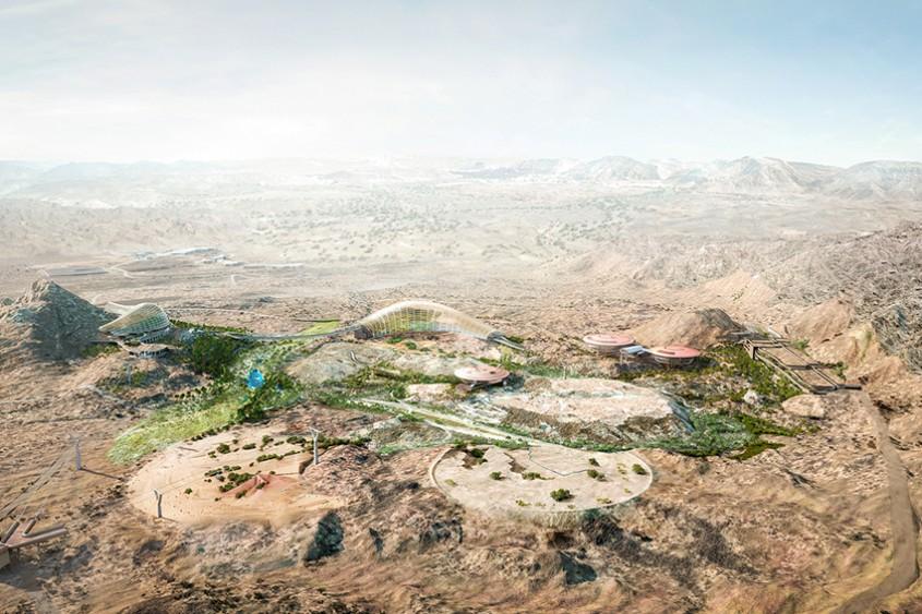 Primele imagini cu proiectul celei mai mari grădini botanice din lume