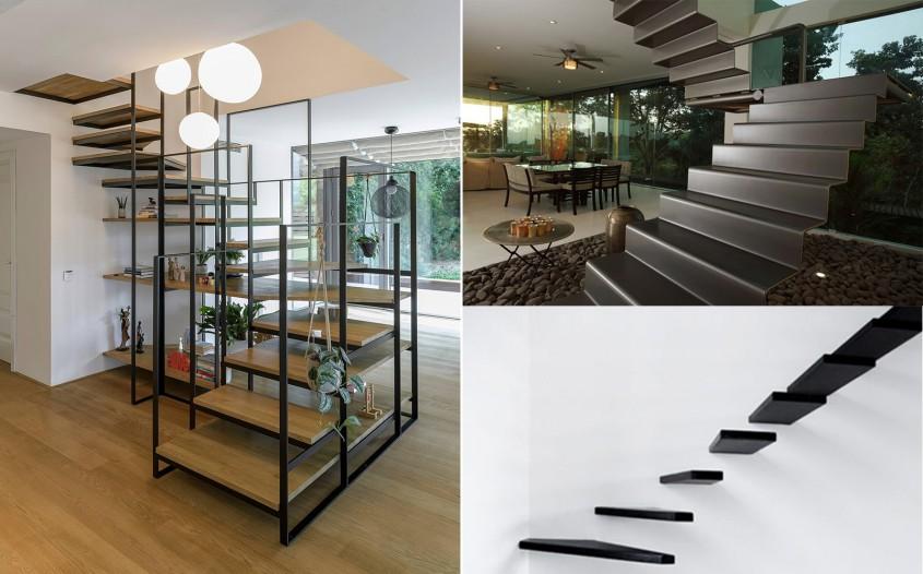 11 modele inedite de scări interioare