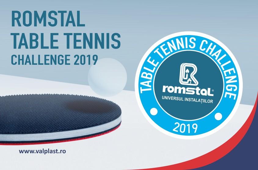 Valplast Industrie, partener al Romstal Table Tennis Challenge