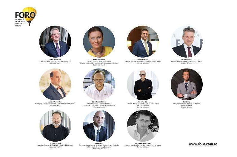 FORO 2018 manageri de hoteluri și de restaurante, chefi, arhitecți și designeri