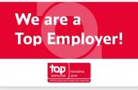 """Grupul Saint-Gobain în România primeşte certificarea """"Angajator de Top"""" pentru al treilea an consecutiv"""