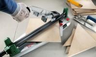 Taierea fara efort a placilor de gresie si faianta cu noul Bosch PTC 470 Gresia si