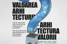 Primul concurs independent de comunicare în arhitectură se va lansa în cadrul celei de-a doua ediţii