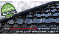 Promotie acoperisuri Novatik GRATUIT folia anticondens Delta-Vent N pana la 30 septembrie Final Distribution ofera gratuit