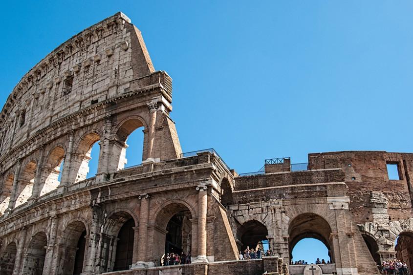 Colosseumul din Roma își redeschide pentru public cele mai înalte niveluri