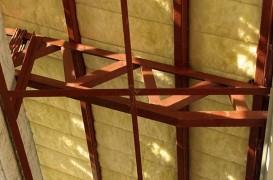 Termoizolarea cu vata de sticla a unui acoperis cu panta