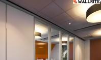 Despre amenajarea unui spatiu de birouri sali de lucru sau sali de evenimente Cu o compartimentare