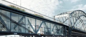 Apartamente peste apă: O idee originală pentru salvarea unui pod vechi