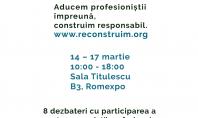 #reCONSTRUIM Aducem profesioniștii împreună construim responsabil #reCONSTRUIM este un nou concept de eveniment adus în cadrul
