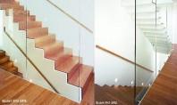 Scari interioare - Model Paris scari metalice cu treapta si contratreapta Structura scarii este din tabla