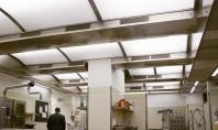 Tavane de extractie; plafoane ventilate SKV, TPV - plafoane de ventilatie si extractie pentru bucatarii industriale.