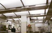 Tavane de extractie; plafoane ventilate