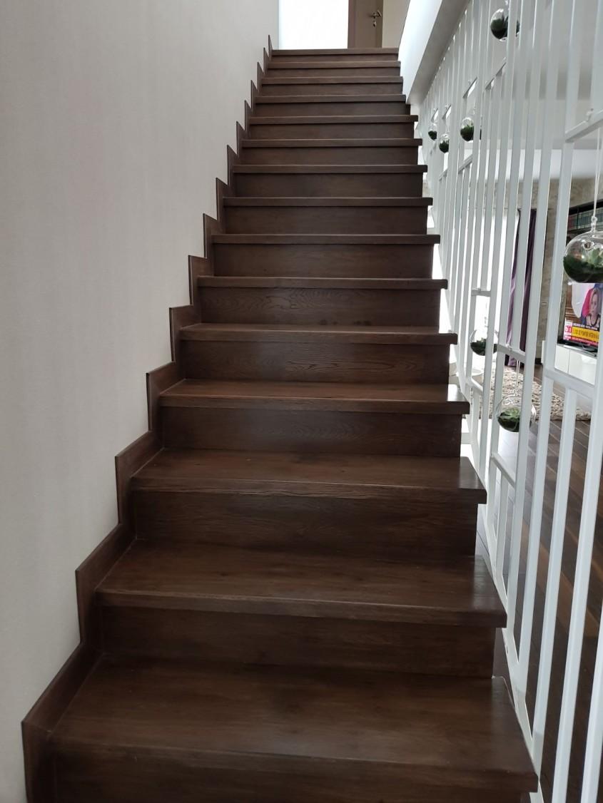 Treptele din lemn, elegante și trainice