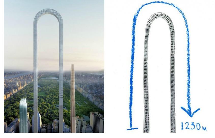Inovatii in arhitectura: un turn indoit ce va deveni cea mai lunga cladire din lume