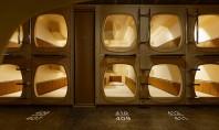 Hotelul capsulă din Tokyo cu un design contemporan dar modern cu mai multe saune Studioul Jo