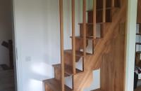5 modele de scări interioare din lemn