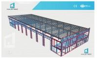 Deschideri mari fara stalpi intermediari cu halele MEXI Halele MEXI pot avea deschideri pana la 20-21