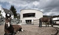 O casa cilindrica autosuficienta care produce biogaz pentru electricitate si caldura Cu o astfel de forma