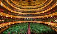 Opera din Barcelona s-a redeschis cu un concert susţinut în faţa a mii de plante decorative