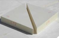 Plăci termoizolante din poliuretan (PIR) tăiate în pantă pe acoperișuri plane