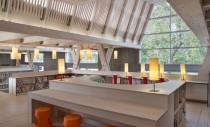 Biblioteca reconstruita dupa cutremur, simbol al rezistentei unei comunitati
