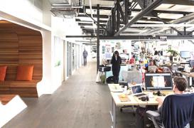 Birourile Autodesk din San Francisco, un loc de munca cu creativitate