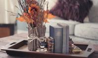 O vaza de flori decorata cu crengute Un proiect potrivit mai ales pentru amenajarile in stil
