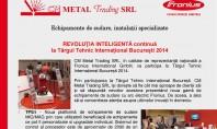 REVOLUTIA INTELIGENTA continua la TIB 2014 - CM METAL Trading CM Metal Trading SRL in calitate