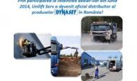 Unilift Serv a devenit distribuitor oficial al produselor Dynaset in Romania! Dynaset produce echipamente acționate hidraulic