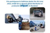 Unilift Serv a devenit distribuitor oficial al produselor Dynaset in Romania! Dynaset produce echipamente acționate hidraulic folosind instalatia utilajului de lucru existent pentru a produce presiune mare a apei, curent electric etc.