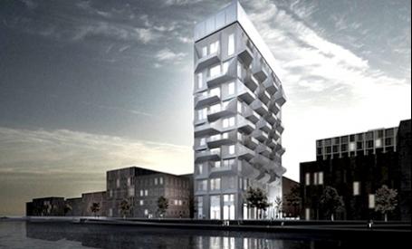 Cum structura unui vechi siloz poate deveni bloc de apartamente