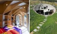 O vila din Elvetia ascunsa in versantul unui munte Intr-o locatie pitoreasca precum Vals in Elvetia