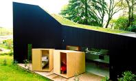 O casa cu dormitoare mobile Sunt multe exemple de locuinte ale caror fatade se pot transforma