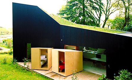 O casa cu dormitoare mobile