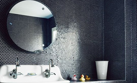 Banutii de mozaic creeaza un decor deosebit